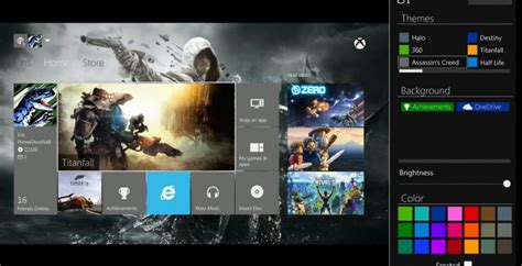 xbox one custom homescreen update conceptualized slashgear