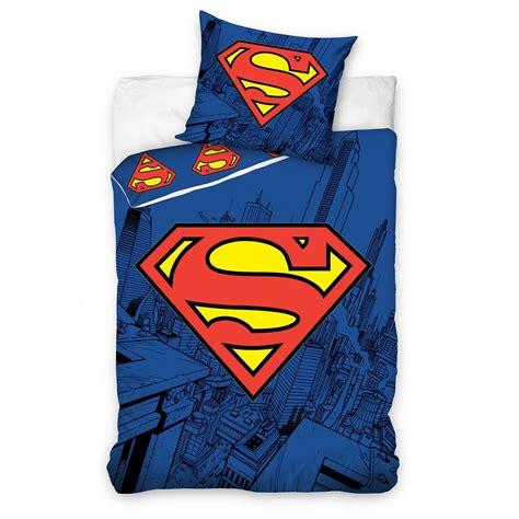 Superman Duvet dc comics batman superman duvet cover and pillowcase sets bedroom bedding ebay