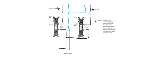wiring diagram for bathroom fan and light switch wiring