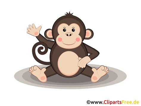 clip kostenfrei affe im zoo clipart grafik illustration bild gratis