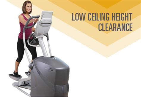Ceiling Height For Elliptical by Octane Q37x Elliptical Fitness Depot