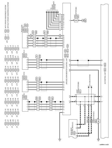 Nissan Rogue Service Manual: Wiring diagram - Navigation