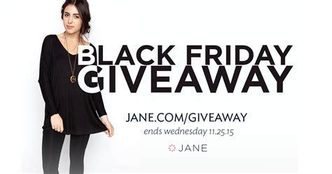 Black Friday Giveaway - taste of thanks giveaway winners black friday giveaway jane blog jane blog