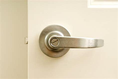 How To Tighten A Door Knob by How To Tighten A Lever Door Handle Hunker