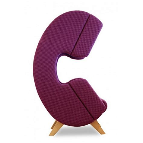 Shaped Chair by Firstcall Phone Shaped Chair