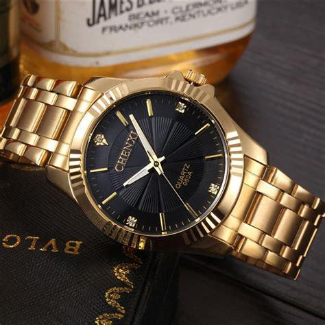 Diesel Daydate Rantai Silver Black fashion gold quartz luxury