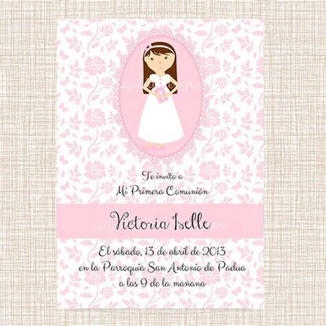printable invitations first communion printable girl communion invitation
