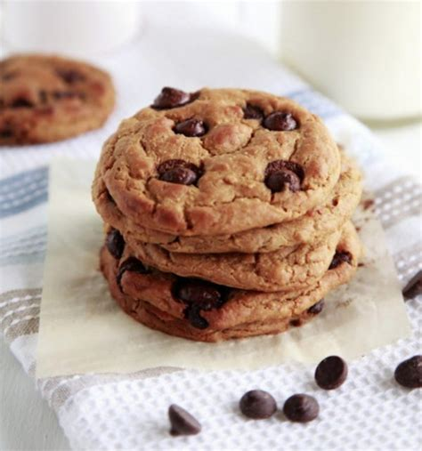 protein in chickpeas chocolate chip chickpea protein packed cookies