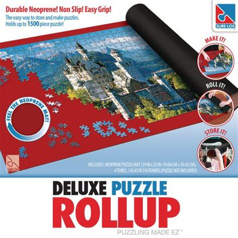 Puzzle Roll Up Mat Review by Sure Lox Neoprene Roll Up Puzzle Mat Walmart Ca