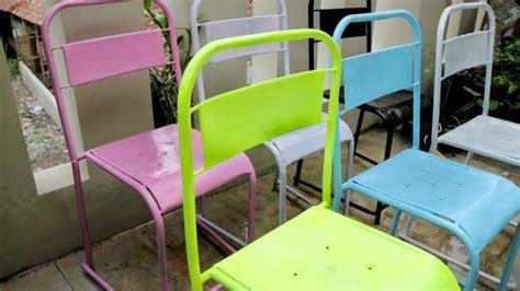 Kursi Hajatan kursi cafe dari kursi hajatan jadul yg sedang viral