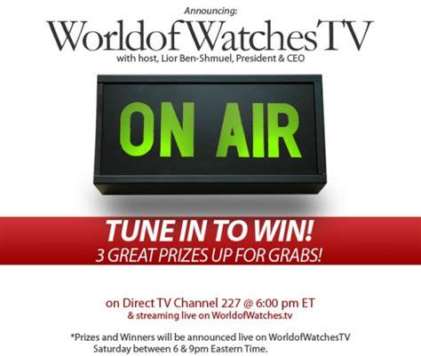 world of watches tv worldofwatches