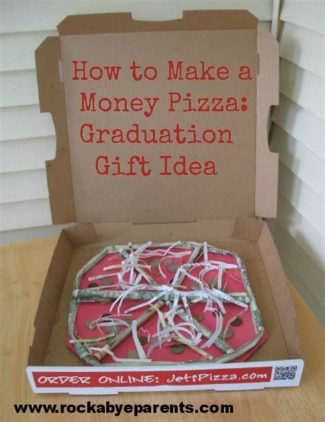 how to make a money pizza a fun way to give a money gift