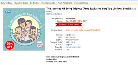 Buku My Lullaby choco beli buku the journey of song triplet by shandy claws