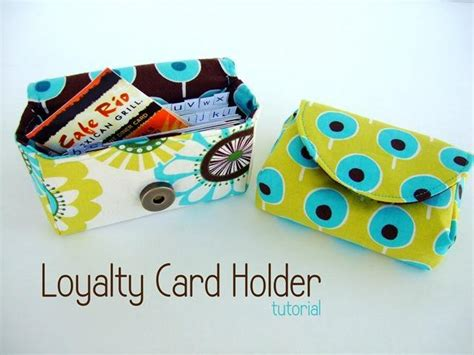 sewing pattern card holder free sewing pattern loyalty card holder i sew free
