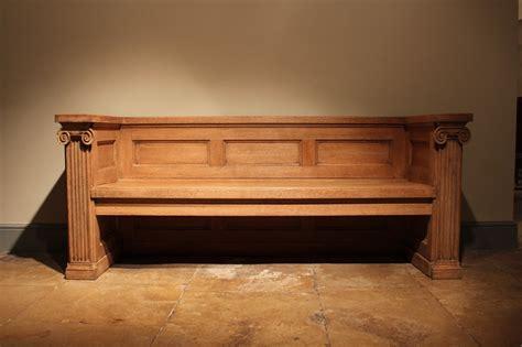 Bleached Oak Bedroom Furniture by 1930 S Bleached Oak Bench Furniture
