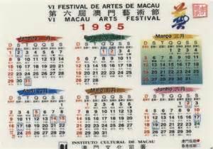Calendario De 1995 Calend 225 Rios Nenotavaiconta