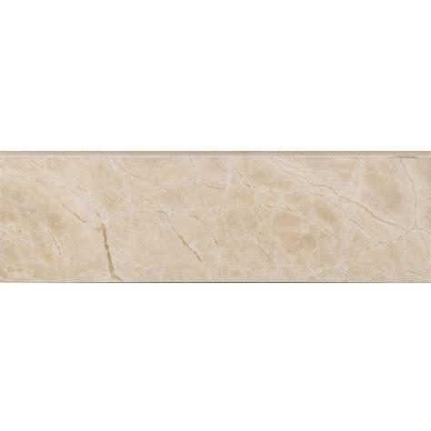 10 X 8 White Ceramic Tile by Daltile Ritten House 3 In X 6 In White Ceramic Bullnose