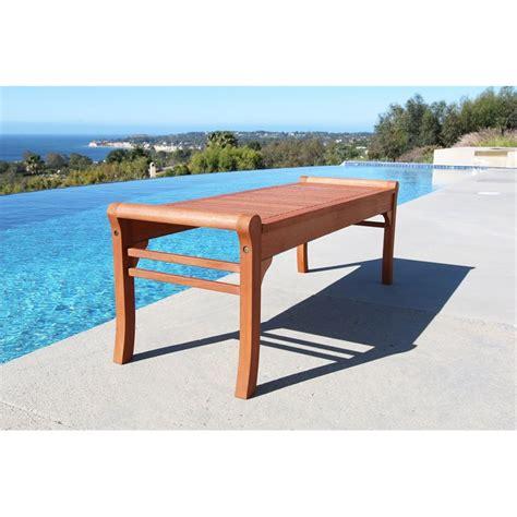 5 foot bench outdoor taha backless 5 foot bench v437
