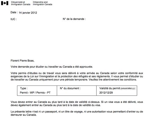 Exemple Lettre Administrative Canada Lettre D Introduction