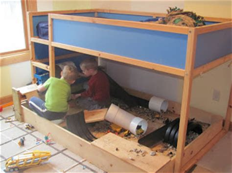 our spin on it boys room play construction site