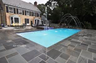 pool deck stone bluestone swimming pool patio gappsi giuseppe abbrancati