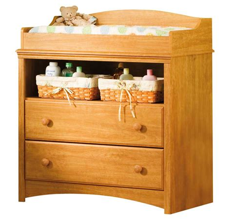 South Shore Sweet Morning Florence Maple Changing Table Maple Changing Table