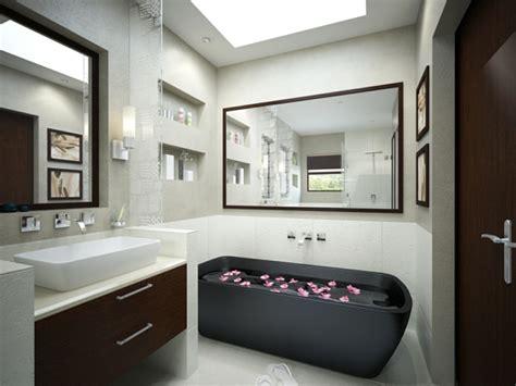small master bad design ideen la robinetterie de baignoire pour la salle de bains