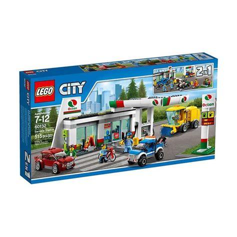 Mainan Lego Blok Lego Besar Isi 136 Pcs jual lego city 60132 service station mainan blok puzzle harga kualitas terjamin