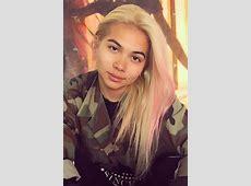Hayley Kiyoko Straight Platinum Blonde Chunky Highlights ... L'oreal Hair Products At Target