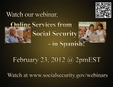 Social Security Office Chicago Heights by Webinar Introduces Social Security Services Now
