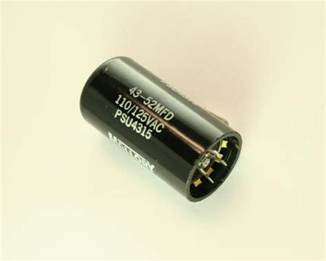 aero m motor start capacitor psa1r10216n aero m capacitor 216uf 110v application motor start 2020003019