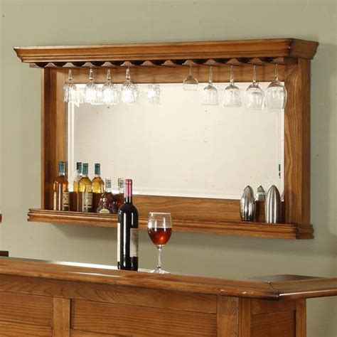 to it burnished oak back bar mirror 599 99