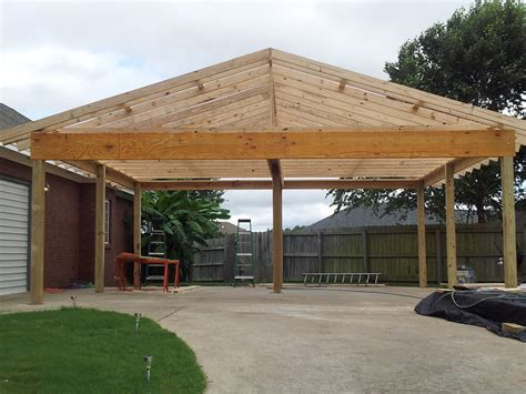 Car Port Roofing by Carport Roofs Carport Flat Roof Timber