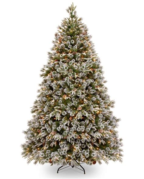 6 5ft pre lit liberty pine decorated feel real artificial