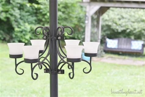 Patio Umbrella Votive Holder Patio Umbrella Candle Holder Patio Umbrella Eight Votive