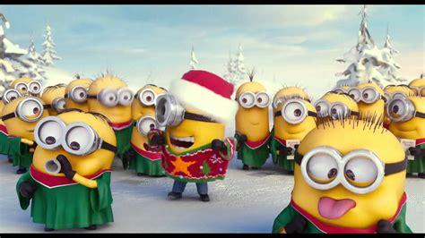imagenes de feliz navidad minions 161 los minions ya est 225 n listos para navidad youtube