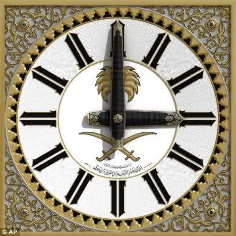 Four Lights Houses Giant 163 500m Clock Being Built In Islamic Holy City Of