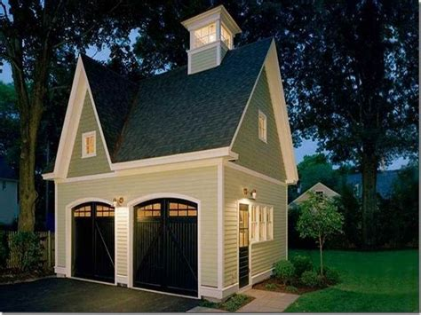 2 Car Detached Garage Plans detached garage design ideas