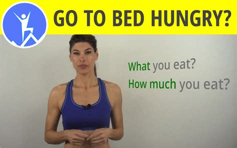 should you go to bed hungry go to bed hungry 28 images three reasons why your