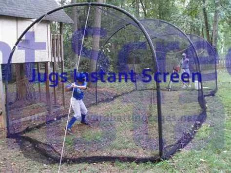 how to build a backyard batting cage backyard batting cages youtube