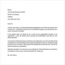 Application Letter 9 Free Doc Download
