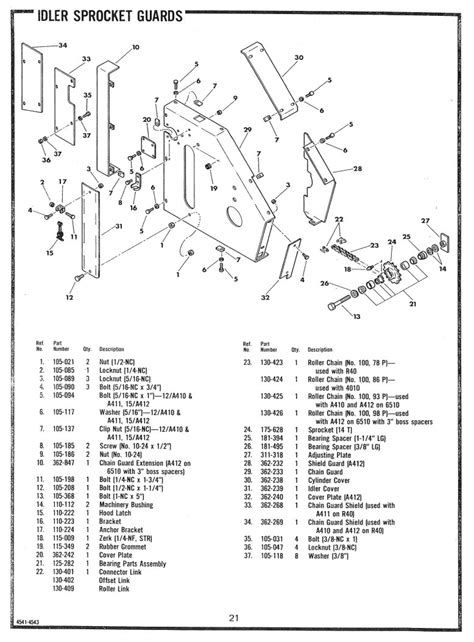 ditch witch parts diagram ditch witch a400 digging attachment operators parts manual