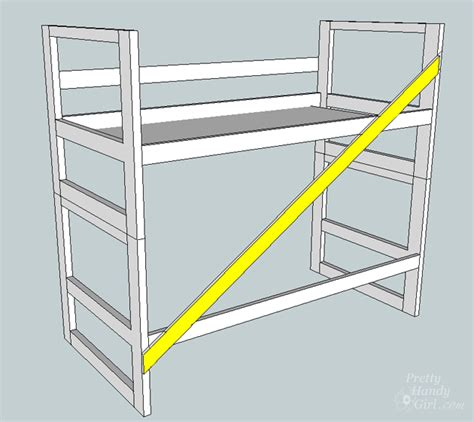 Turn A Bed Into A by How To Turn A Bunk Bed Into A Loft Bed