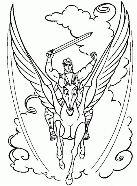 Free W Coloring Pages by Free Printable Hercules Coloring Pages For