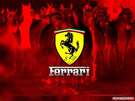 ferrari logo redirecting