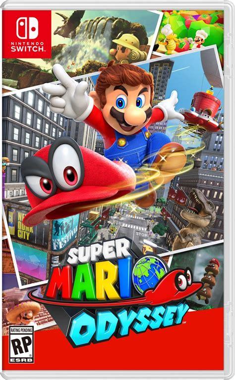 Super Mario Odyssey Giveaway - le logo du super mario odyssey sur nintendo switch wiki