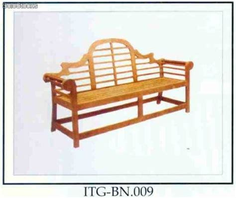 Banco Jardn Madera Tecamod Marlboro Barato | banco jard 237 n madera teca mod marlboro barato