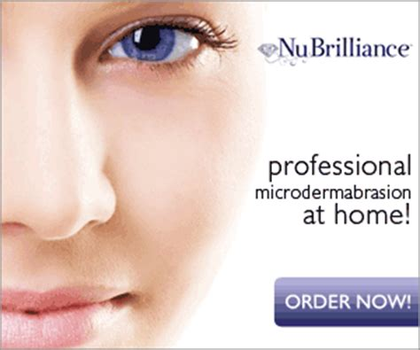 nubrilliance the best at home microdermabrasion device