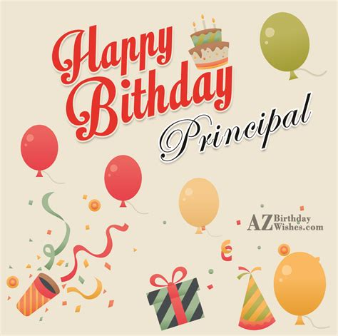 Happy Birthday Wishes To Principal Happy Birthday Dear Principal