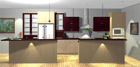 2020 kitchen design 3d interior images services